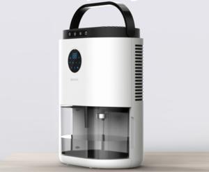 2L Water Volume Portable air dehumidifier Smart Dehumidifier With display