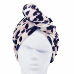 Custom Quick Dry Women Coral Fleece Microfiber Hair Drying Towel Shower Cap
