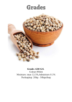 WHITE PEPPER Vietnam high quality single spices & herbs