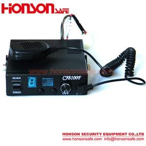 DC12V/24V 100W/150W/200W Optional high quality fire truck ambulance car electronic Alarm siren CJB-100F