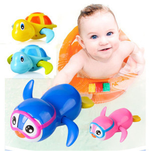 Funny Eco ABS Safety Animal Clockwork Bath Toys for Kids