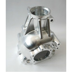 Precision 5 axis CNC milling customized billet 7075 front case for racing car