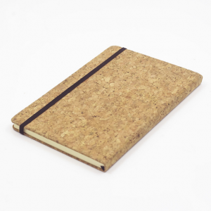 Customized Wood Cover Cork Note Book