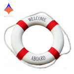 Customize Available Dark Blue and Red O01 Marine Life Buoy for Decorative
