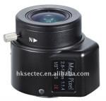 focal length 2.8~12mm megapixel lens