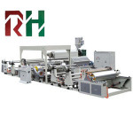 pp coating and laminating machine for paper/noven/non-woven fabric in roll
