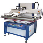 Semi-Automatic Glass Flatbed Vertical Screen Printing Machine