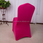 universal used party banquet elastic chair cover wedding celebration spandex chair cover large activity elastic chair cover