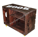 cheap wooden crates wholesale with wheel TH 3460