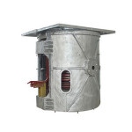 Foundry Wrought Iron Melting Machine 500 KG Pig Iron Smelting Furnace for Sale