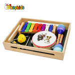 Best sale wooden kids music set for wholesale W07A151