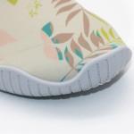 2018 Exhibition Design Soft Scuba Knitting Fabric Foldable PVC Sole Sport Shoes For Unisex