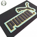 Custom heat press sticker 3d silicone heat transfer printing labels for clothing