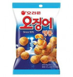 korean snacks baked squid peanut