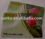 Offset Printing PVC scratch Card