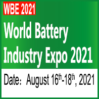 World battery Industry Expo 2021 Tradeshow 16 - 18 Aug 2021