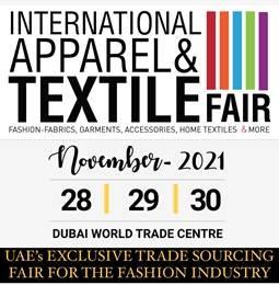 INTERNATIONAL APPAREL & TEXTILE FAIR Tradeshow 28 - 30 Nov 2021